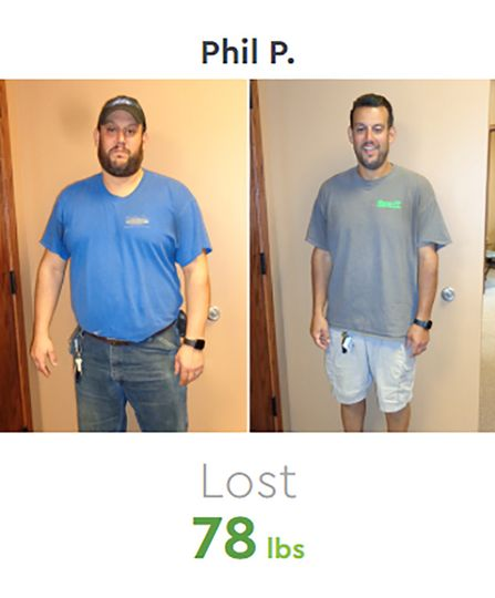 Phil Before & After