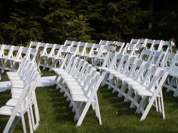 Garden Chair Seating for Wedding