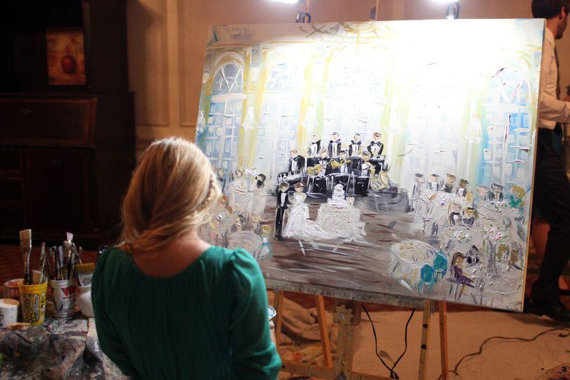 Paint Your Event by Artist Heidi Schwartz