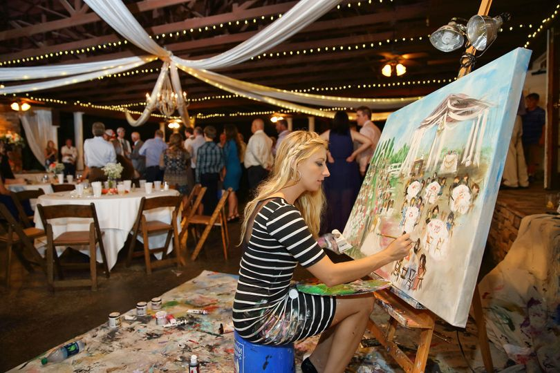 Paint Your Event by Artist Heidi Schwartz