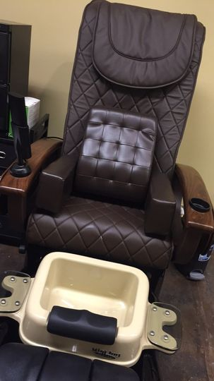 Foot spa chair
