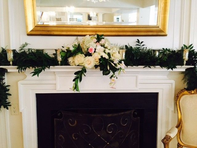 Tmx 1444141273224 Garland On Mantel Ipswich, Massachusetts wedding florist
