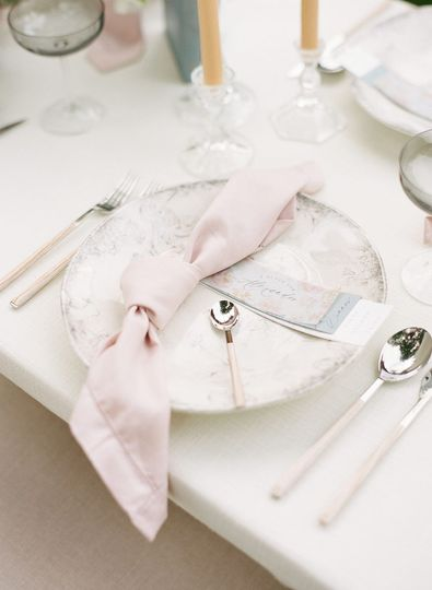 Luxe table setting