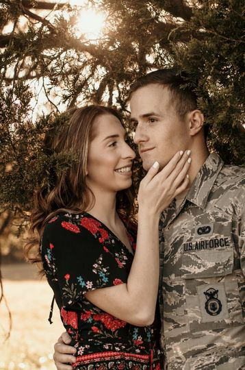 Engaged to an airman