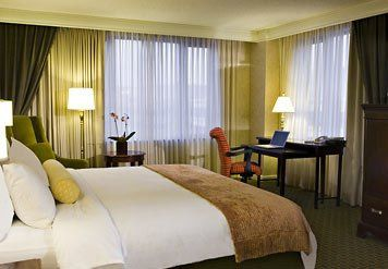 The handsome guest rooms of our downtown Washington, DC hotel blend comfort, style and productivity....