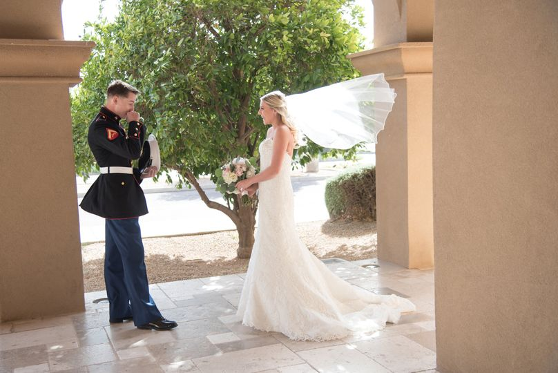 Private first look