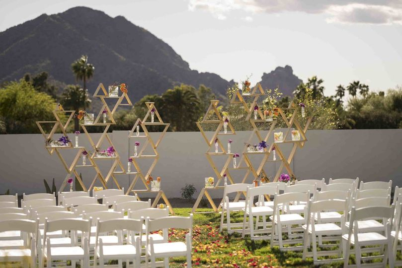 andaz scottsdale events albers lawn wedding
