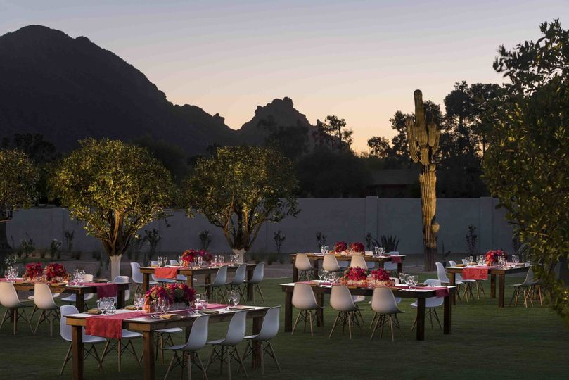 andaz scottsdale events cholla lawn dinner night