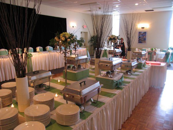 Our beautiful buffet presentation!