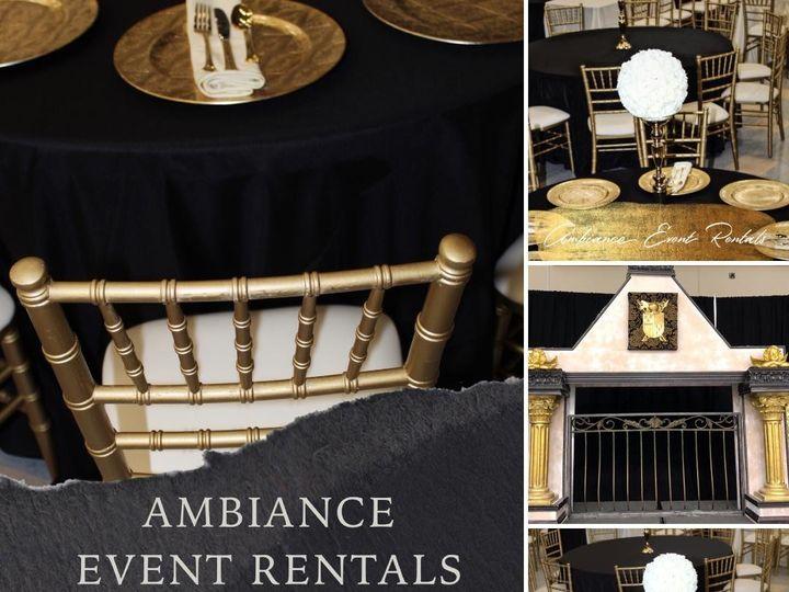 Tmx Black And Gold Decor With Fireplace 51 1011004 1560194833 Fontana, CA wedding rental