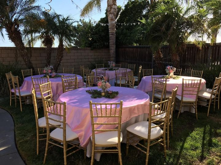 Tmx Pink And Gold Decor 51 1011004 1560194998 Fontana, CA wedding rental