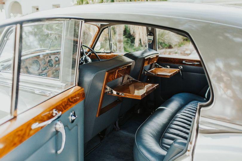 1965 Rolls-Royce interior