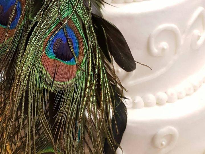 Tmx 1464214561956 Peacock1 Buffalo wedding cake