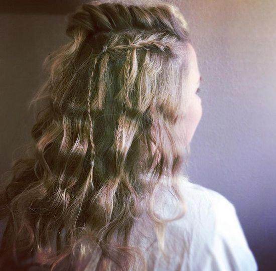 Pretty hair design