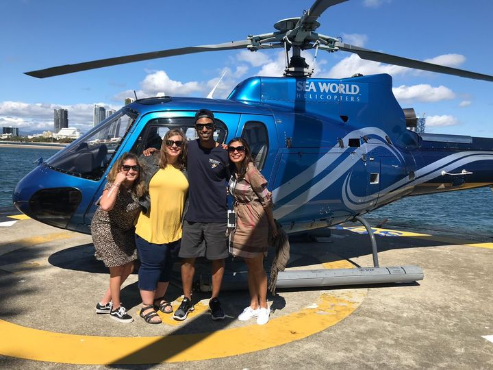 Helicopter tour in Gold Coast,