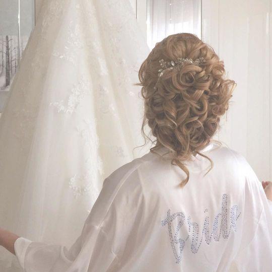 Bridal  Hair  - Backstage