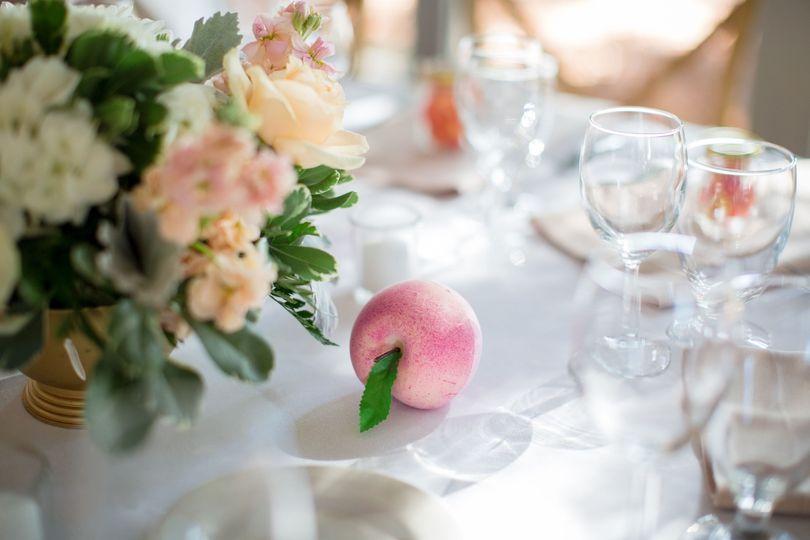 Vivid table settings