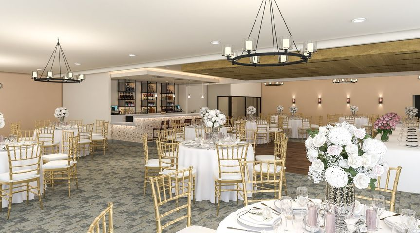 Banquet Room ready for weddings
