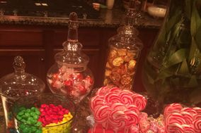 Delectable Couture Candy and Confections Displays