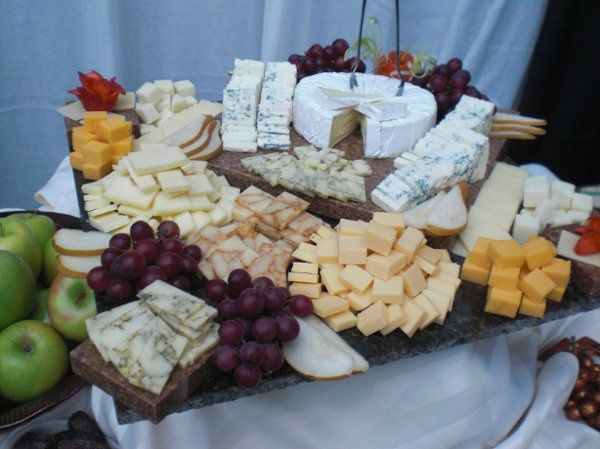 Artisan Cheese Platter by Carte Blanche Caterers