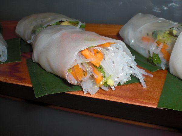 Vietnamese Salad Roll by Carte Blanche Caterers