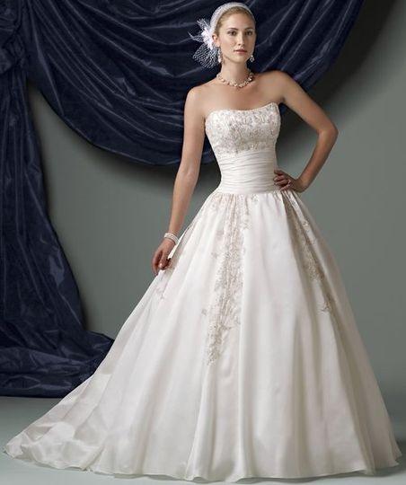 Dress attire san jose ca weddingwire for San jose wedding dresses