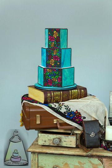 Cake Conspiracy Wedding Cake Spring Tx Weddingwire