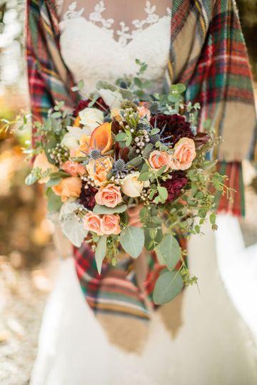 Blush bouquet | JoPhoto