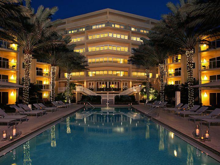 Tmx 1426942157456 Pool At Dusk Full Res Naples, FL wedding venue