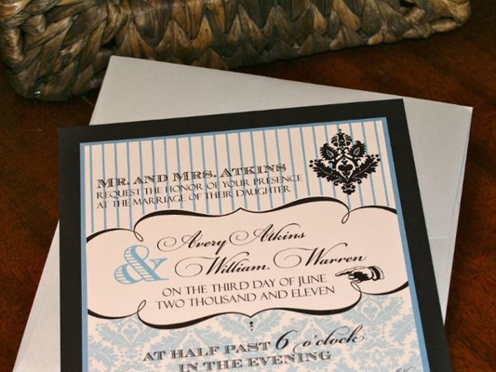 Tmx 1331954818717 DSC08429 Tulsa wedding invitation