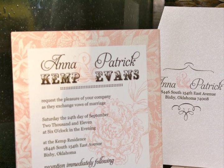 Tmx 1331954902520 DSC08416 Tulsa wedding invitation