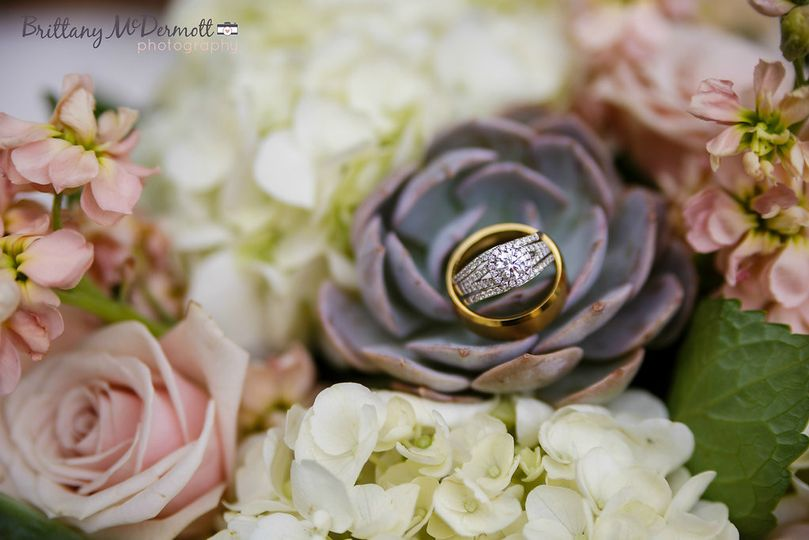 Ring on the flower