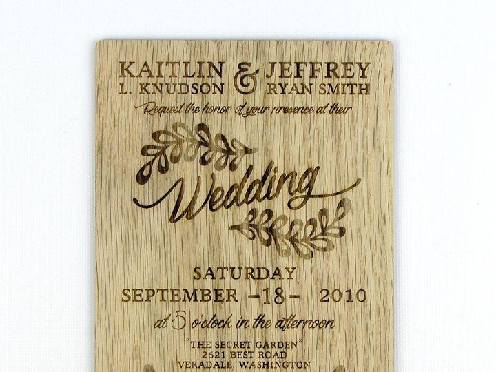 Tmx 1435887912032 Rustic Leaf Invitation Red Oak 2 Spokane, WA wedding invitation