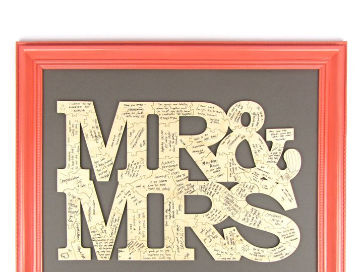 Tmx 1435888066353 Mr And Mrs Puzzle 1 2 Spokane, WA wedding invitation