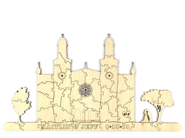 Tmx 1435888121480 Cathedral Puzzle 1 Spokane, WA wedding invitation