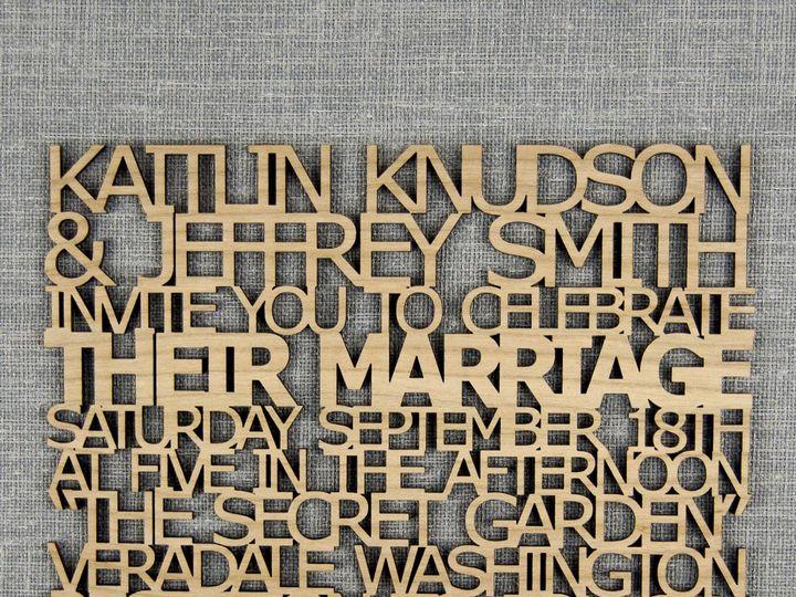 Tmx 1498508123101 Freecut Invitation Cherry 4 Spokane, WA wedding invitation