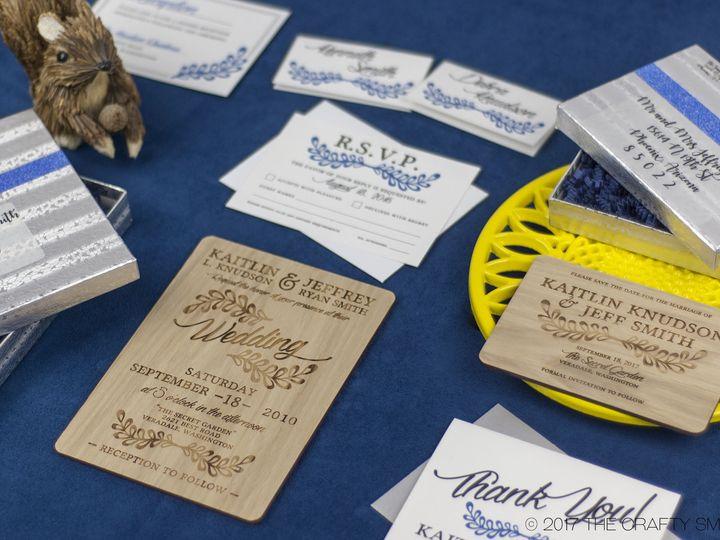 Tmx 1498508332949 Rustic Leaf Full Suite 4 Spokane, WA wedding invitation