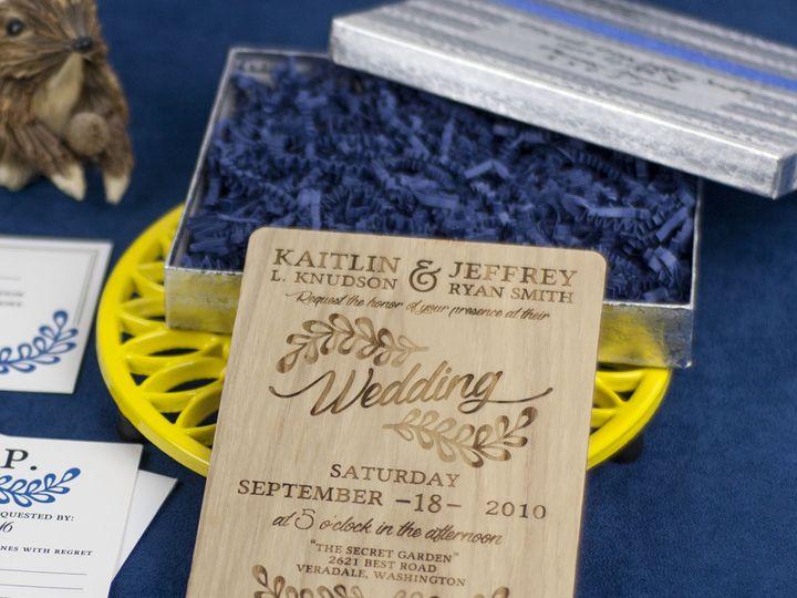 Tmx 1498508362437 Rustic Leaf Invitation Ash 5 Spokane, WA wedding invitation