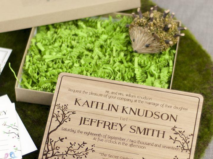 Tmx 1498508445846 Simple Love Birds Invitation Lyptus 4 Spokane, WA wedding invitation