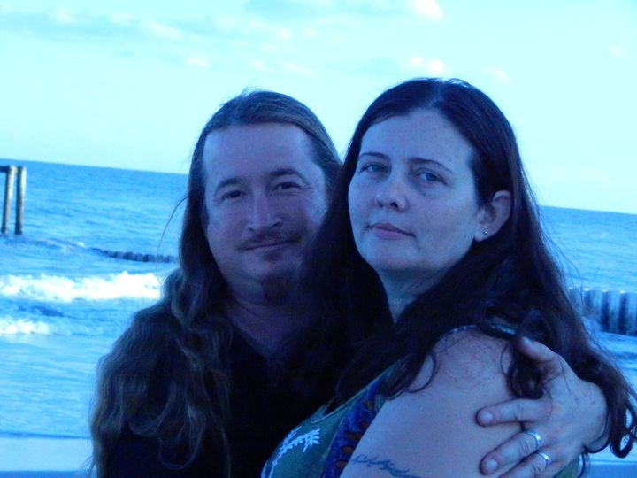 Handfasting at the seaside