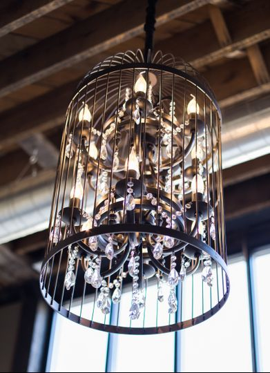 Reception Room's chandelier