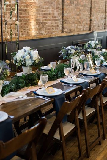 Head Table at Mercantile Hall