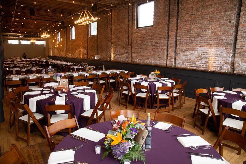 Reception at Mercantile Hall