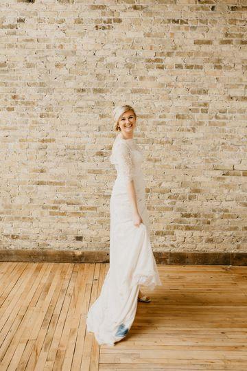 Gorgeous Bride at Merc Hall