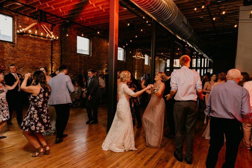 Dancing at Mercantile Hall