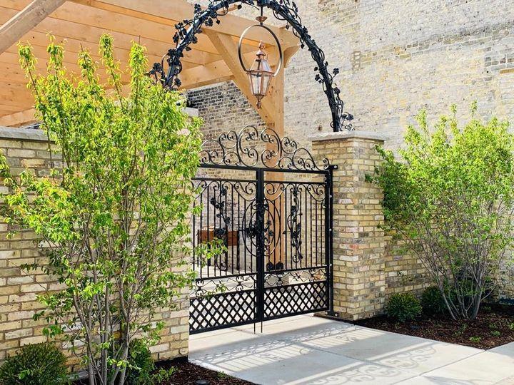 The Urb Garden Entrance