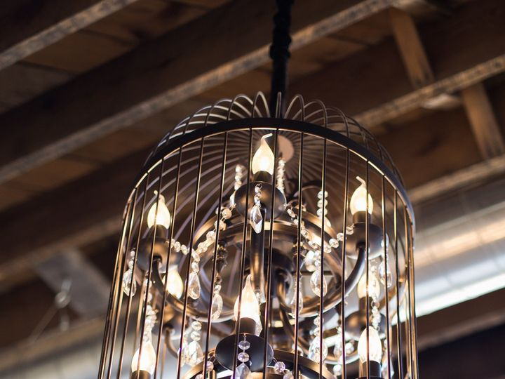 Tmx 1505501190881 Birdcage Chandelier At Mercantile Hall Burlington, Wisconsin wedding venue