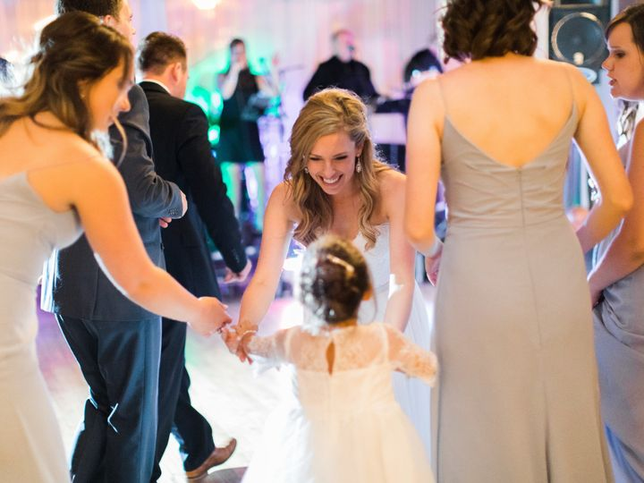 Tmx 1505501320487 Melissa And Flower Girl Dancing At Mercantile Hall Burlington, Wisconsin wedding venue