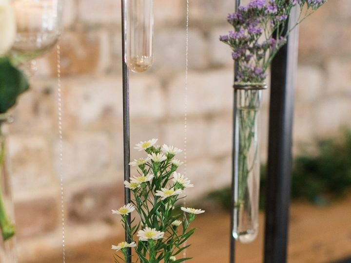 Tmx 1505501460934 Suspended Flowers At Mercantile Hall Burlington, Wisconsin wedding venue