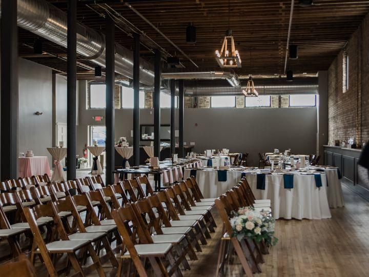 Tmx Ceremony Set Up At Mercantile Hall 51 946104 Burlington, Wisconsin wedding venue